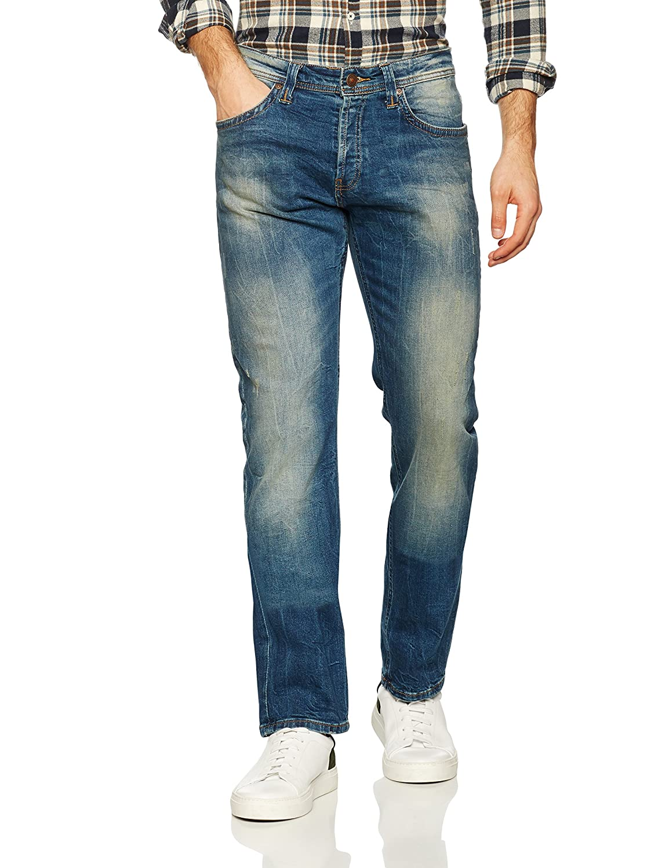 TALLA 33W / 32L. LTB Jeans Hollywood Vaqueros Rectos para Hombre