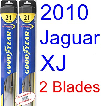 Juego de escobillas de repuesto para limpiaparabrisas de Jaguar XJ® 2010 (limpiaparabrisas de año grande, híbrido): Amazon.es: Coche y moto