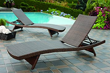 En Osier Inclinable Aloha De Tissé Fauteuil Lounge Jardin FKlc1J3T