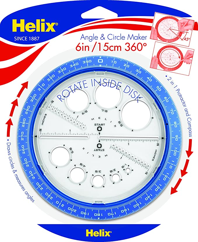 Helix Angle And Circle Maker 36002 Amazon Office Products