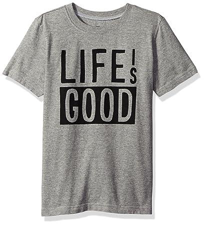 06e5fa6c7dd Amazon.com  Life is Good Boys Blocked Tee  Sports   Outdoors