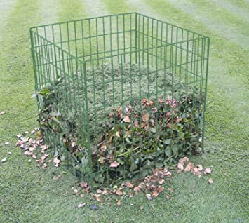Amazoncom Bosmere K765 Wire Compost Bin Lawn And Garden Tool