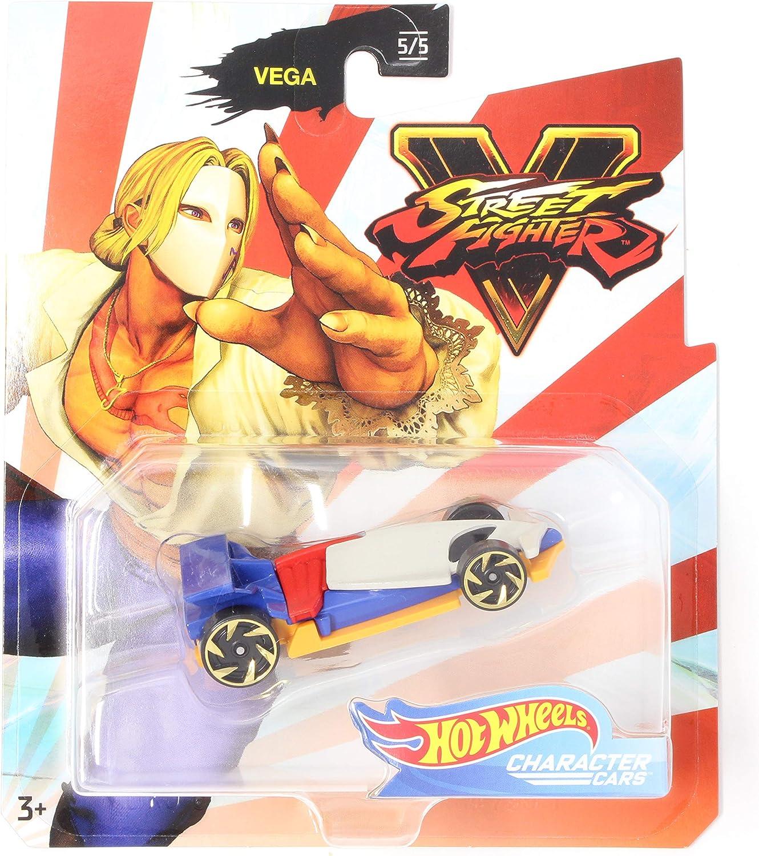 Amazon Com Hw Character Cars Vega Street Fighter V Series 5 5