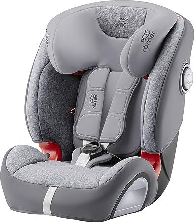 Oferta amazon: Britax Römer Silla de coche 9 meses - 12 años, 9 - 36 kg, EVOLVA 1-2-3 SL SICT, ISOFIX, Grupo 1/2/3, Grey Marble