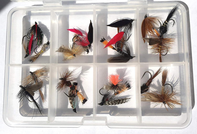Slim Clear Fly Fishing Box Jig Lure Bait Hook Flies Storage Case 2 Models