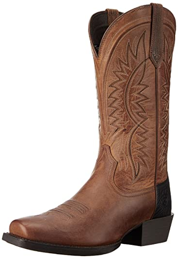 0afbd8d3493 ARIAT Men s Troubadour Western Boot Powder Brown Size 7 D Medium Us