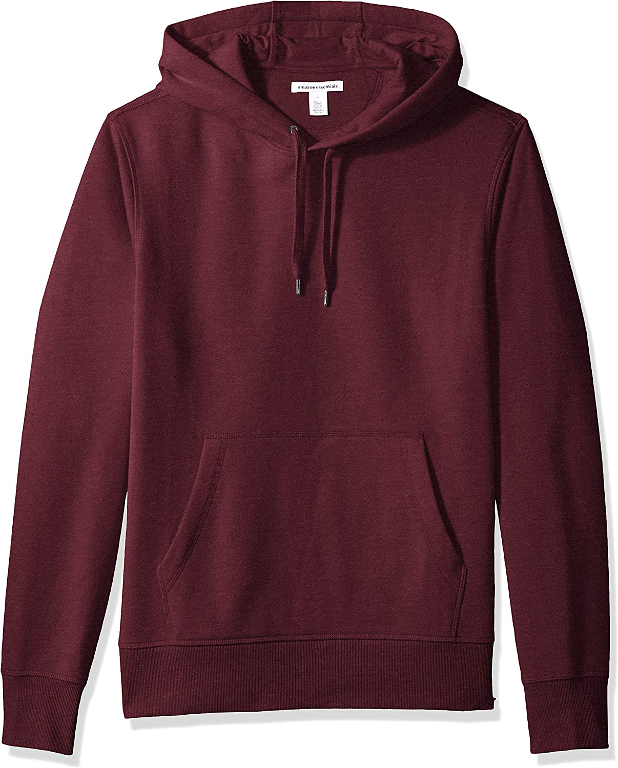 Essentials Men's Standard Hooded Fleece Sweatshirt: Clothing