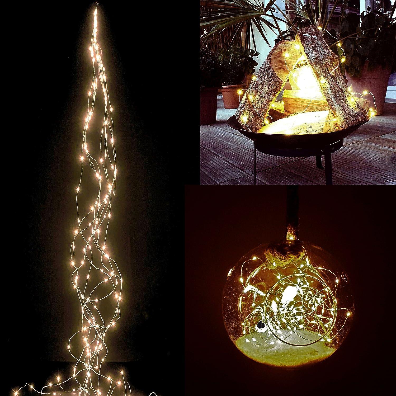Berühmt Led Weihnachtsbeleuchtung Mit Weißem Draht Galerie ...