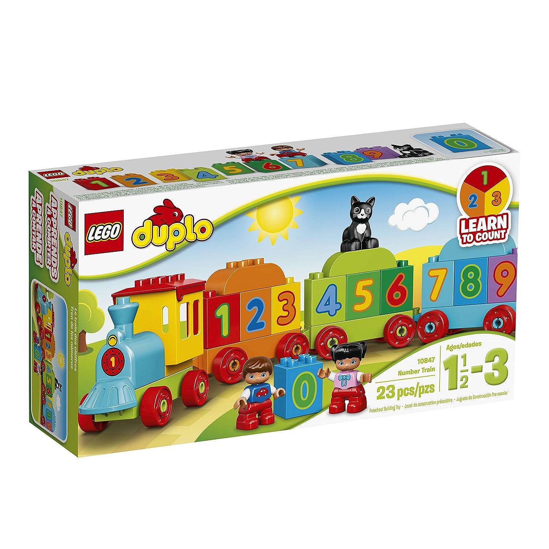 Amazon LEGO DUPLO My First Number Train Preschool Toy