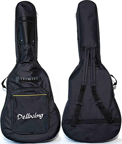 Dellwing - Funda para guitarra 4/4 (alta calidad, para guitarras ...