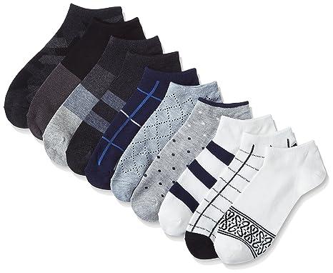 (ハルサク) HARUSAKU 10足組 靴下 メンズ おしゃれ くるぶし カジュアル ショート スニーカー ソックス 25