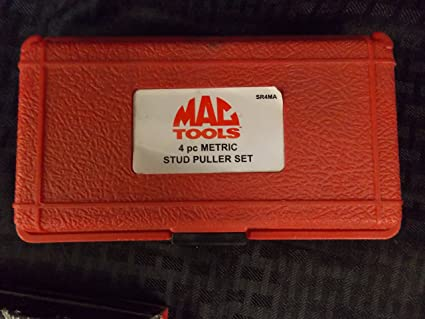 Mac Tools 4 Piece Metric Stud Puller Set, 3/8 Drive 6 - 12MM, Part #SR4MA