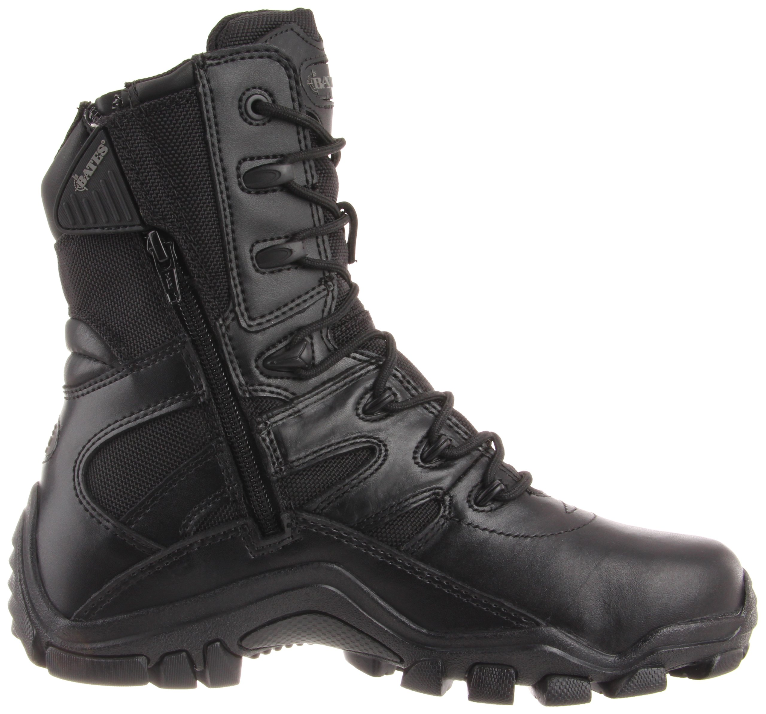 Bates Women's Delta 8 Inch Boot, Black, 8 M US by Bates (Image #6)