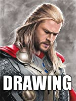 Time Lapse Drawing of Thor