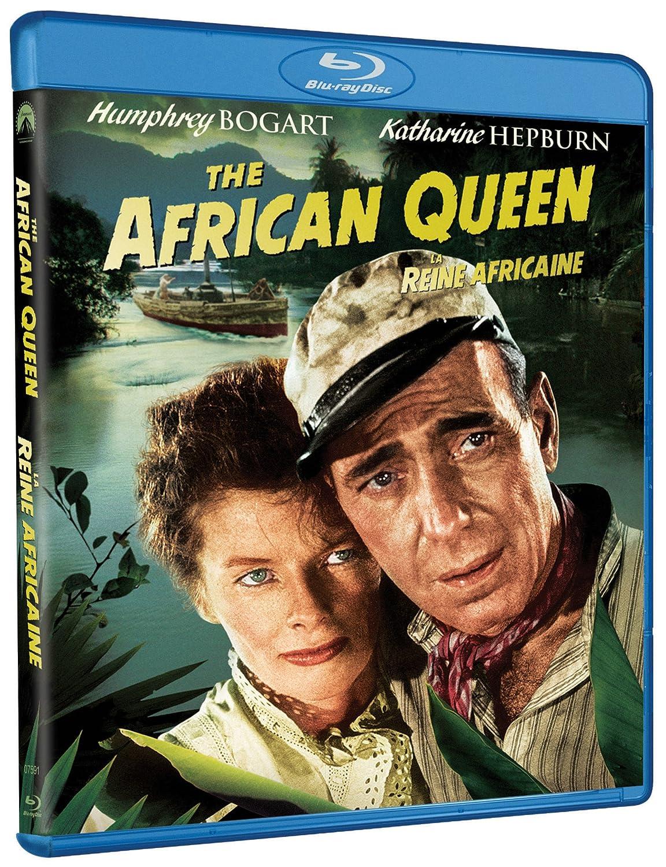 The African Queen [Blu-ray] (Bilingual) Humphrey Bogart Katharine Hepburn Robert Morley Theodore Bikel