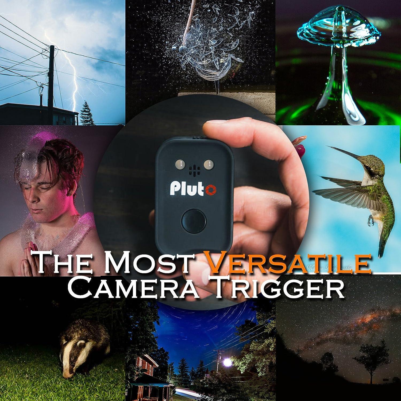 Pluto Trigger con E3/cavo per Canon Fujifilm Samsung Sigma Hasselblad Pentax Contax