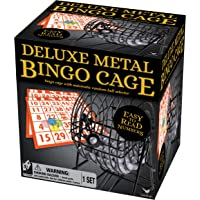 Cardinal Industries Juego de Bingo con Jaula de Alambre de Lujo (los Estilos Pueden Variar)