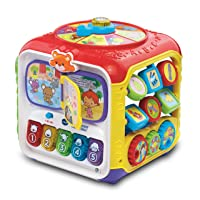 VTech Sort and Discover Activity Cube (Frustration Free Packaging), Great Gift For...