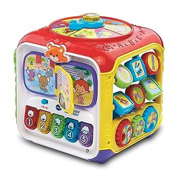 VTECH Baby Sort & Discover Activity Cube: Amazon.es: Bebé