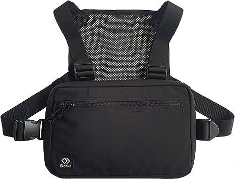 Blenka - Mochila de pecho ligera | Diseño de bolsa frontal ideal para senderismo, correr, ciclismo, escalada, viajes y táctica