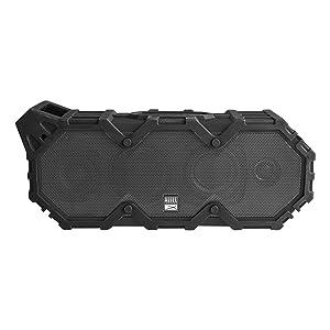 Altec Lansing IMW789-BLG LifeJacket XL Wireless Waterproof Floatable Bluetooth Speaker, Black & Gray