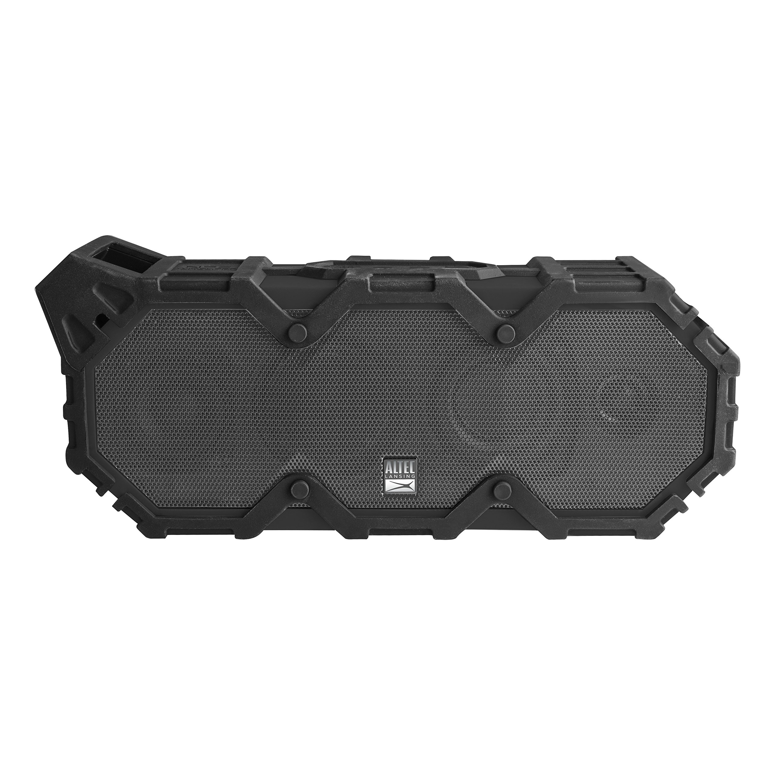 Altec Lansing IMW789-BLG LifeJacket XL Wireless Waterproof Floatable Bluetooth Speaker with 100 ft Wireless range, 40 Hours of Battery Life, and Stereo Pairing, Black/Grey