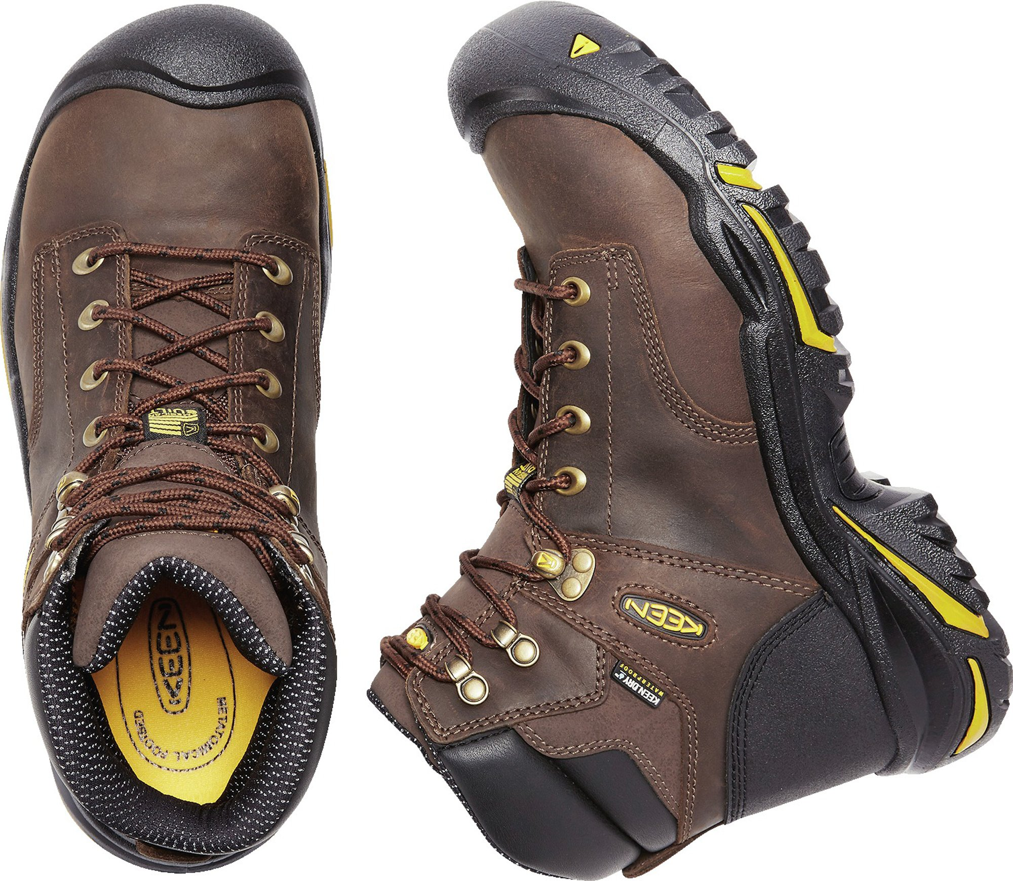 KEEN Utility MT Vernon 6'' Waterproof (Steel Toe), Men's Work Boot, Cascade Brown, 15 EE by KEEN Utility (Image #8)