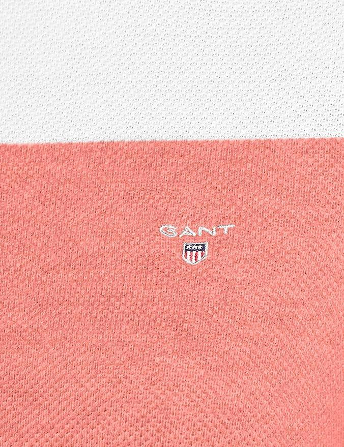 Cotton Piqué Sweater Donna Amazon Block Stripe Gant Felpa it dOqwfx5