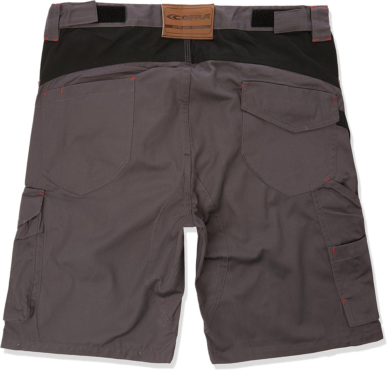 Taille 44 Cofra V068-0-04.Z44 Tile Short Anthracite//Noir