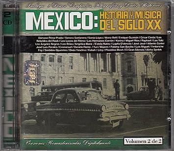 Amazon.com: Mexico Historia Y Musica Del Siglo Xx 2cd: Music