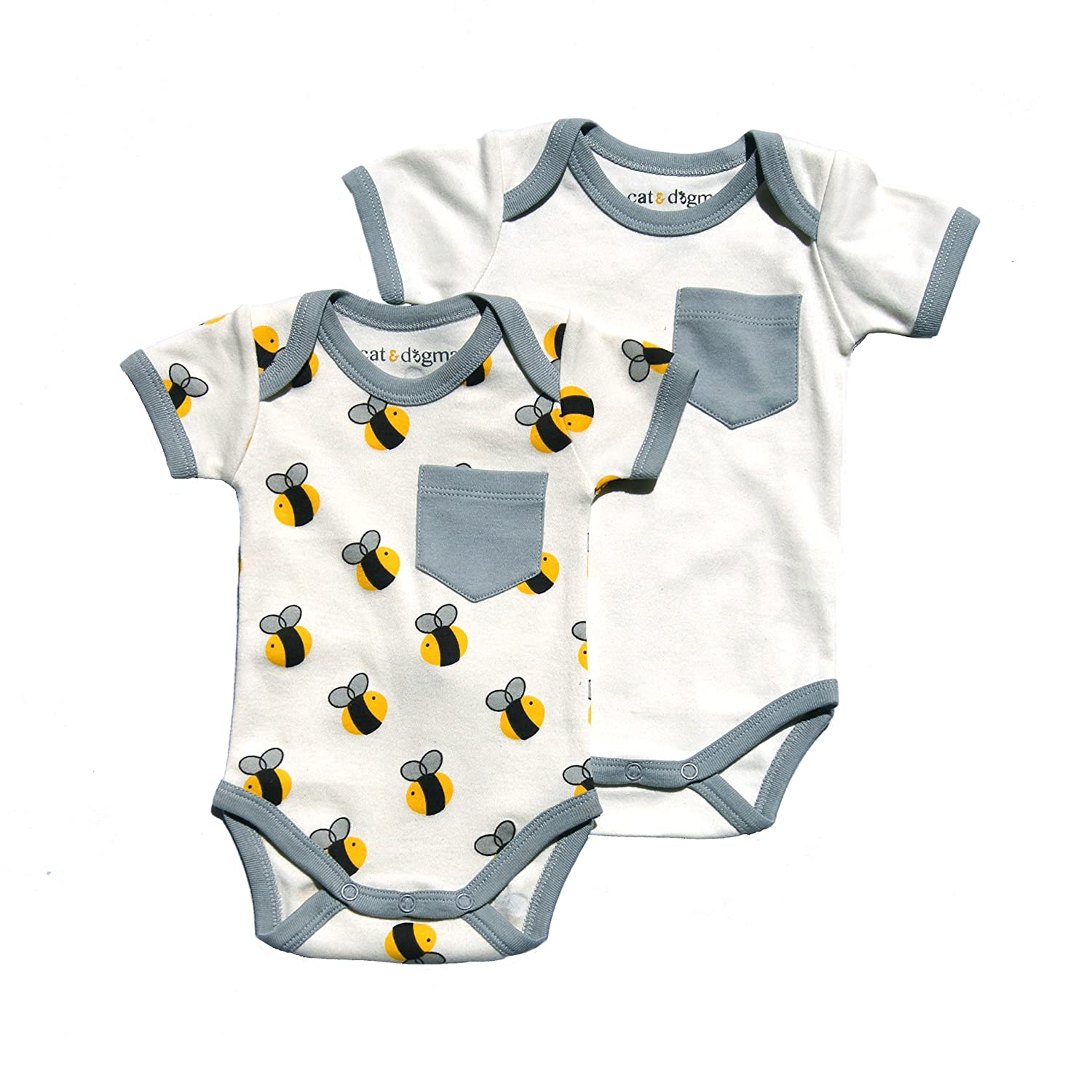 Amazon Cat & Dogma Certified Organic Infant Baby Clothing