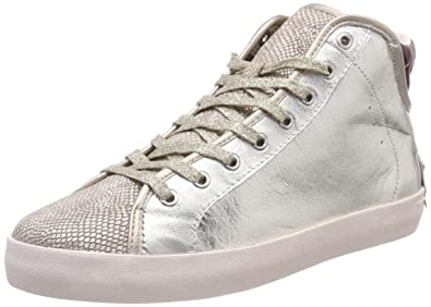 CRIME London Damen 25331KS1 Hohe Sneaker Gold (Platin) 38 EU