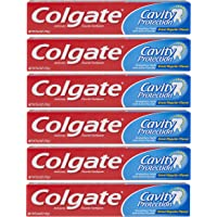 6-Pack Colgate Cavity Protection Toothpaste with Fluoride (6 Ounce)