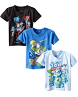 Disney Boys' Toy Story 3-Pack T-Shirt