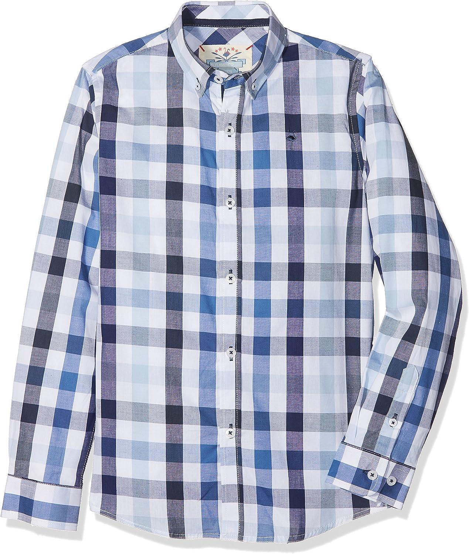 EL FLAMENCO Italiana Camisa, Azul, (Tamaño del Fabricante:4 ...