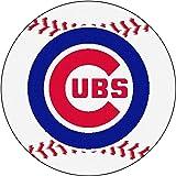 FANMATS MLB Chicago Cubs Nylon Face Baseball Rug