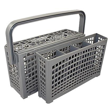 2 en 1 universal Cubiertos Cesta | Adecuado para todos los Lavavajillas | Estable Conexión |