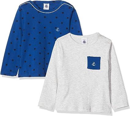 Petit Bateau T-Shirt /À Manches Longues Gar/çon