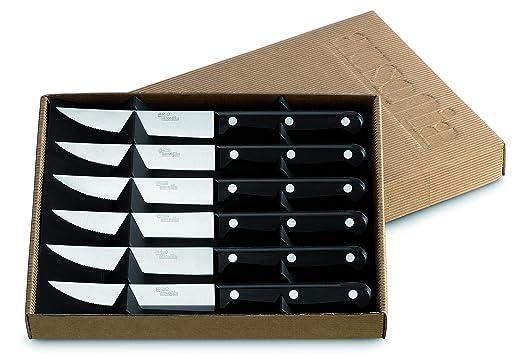 Compra AUSONIA - 96521 Pack DE Regalo DE 6 Cuchillos para Carne ...