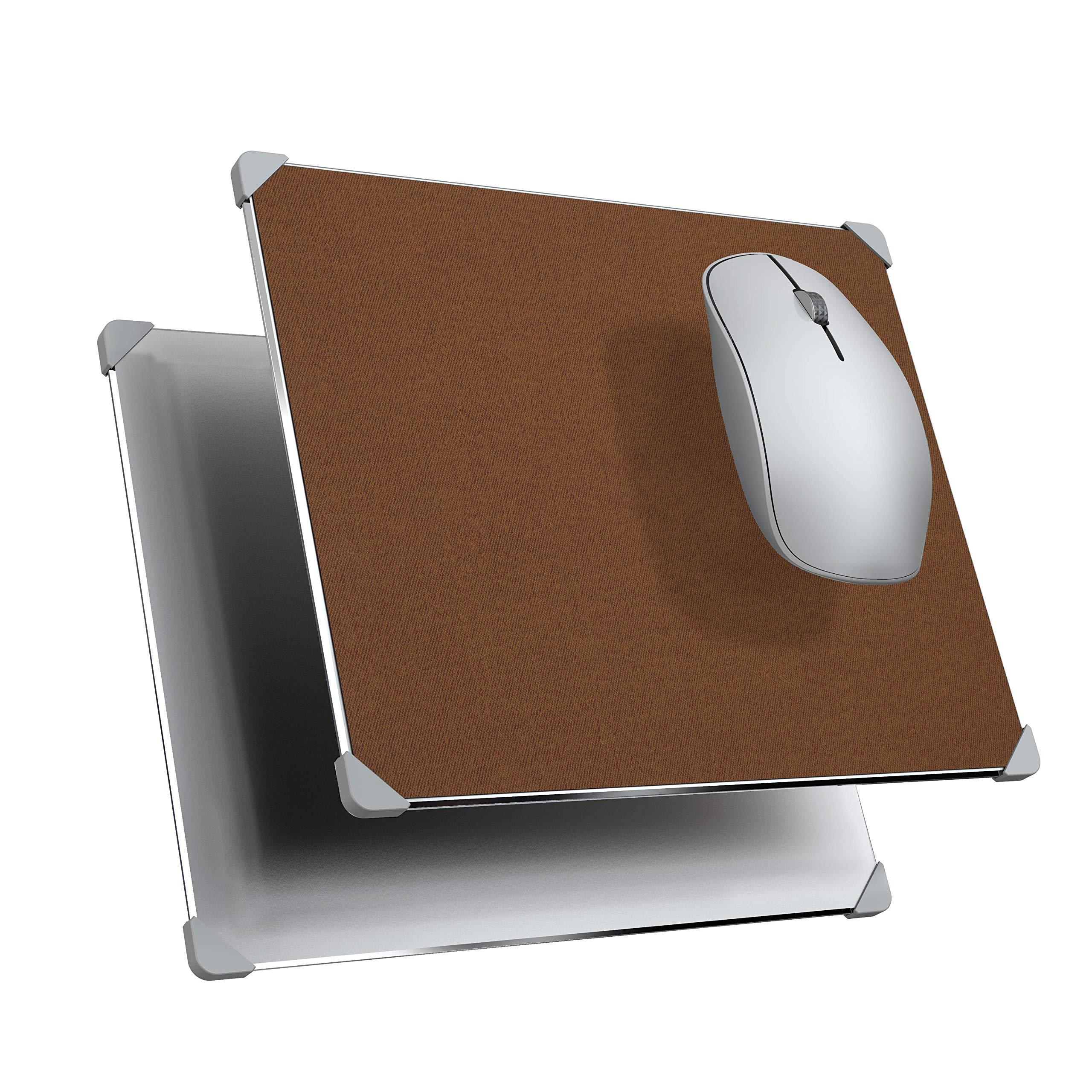 Mouse Pad  Metal y Cuero Sintetico YSAGi -8R8H6HQR