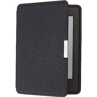 Amazon - Funda de cuero para Kindle Paperwhite, color negro ónix - no es compatible con la versión del 2018 (10.ª generación)