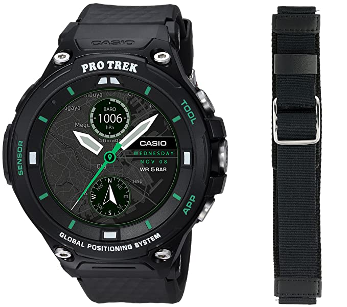 bd25e8129a72 Casio WSD-F20X-BKAAU - Reloj inteligente Protrek edición limitada  inteligente