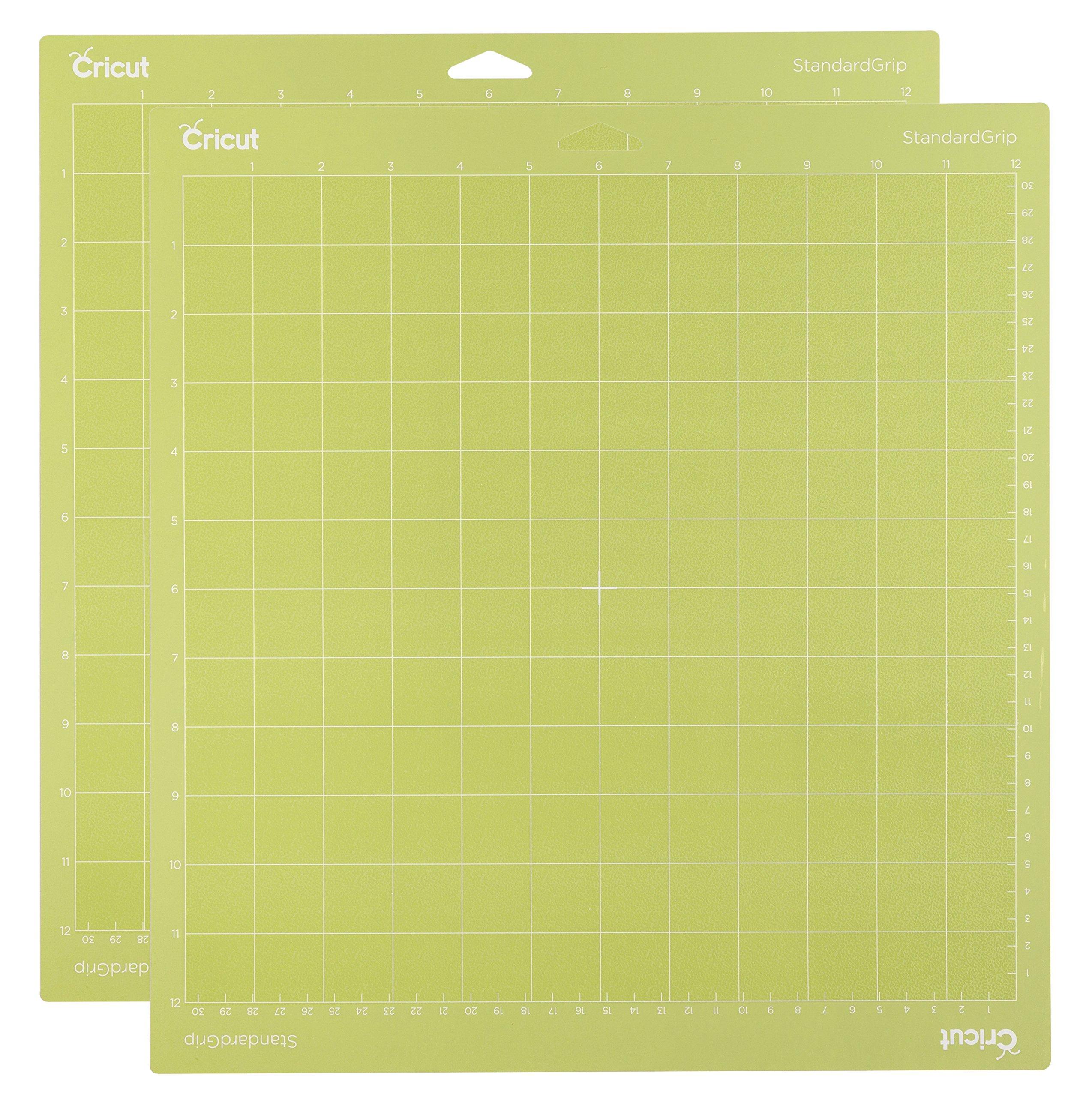 """Cricut Standard Grip Mat, 12""""x12"""", 2 Mats"""