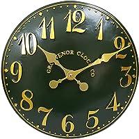Extérieur Intérieur Jardin Vert Horloge murale Horloge église