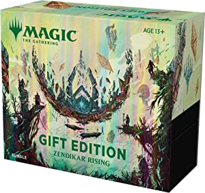Magic: The Gathering Zendikar Rising Gift Bundle   10 Draft Booster Packs   1 Collector Booster   Accessories