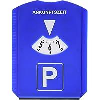 Hama 00083958 multifunctionele parkeerschijf, kunststof, B120 x H155 x D8 mm, blauw