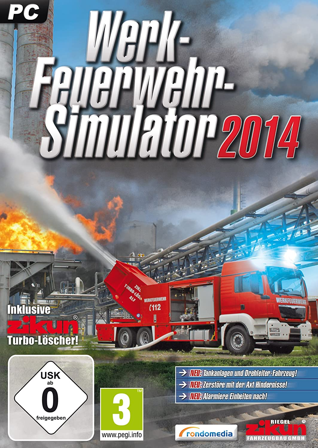 Werkfeuerwehr-Simulator 2014: PC: Amazon.de: Games