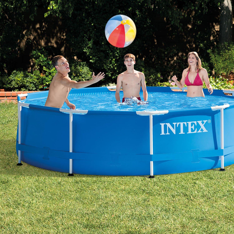 intex above ground swimming pool. Amazon.com: Above Ground Swimming Pool With Filter Pump Intex 10\u0027 X 30\ O