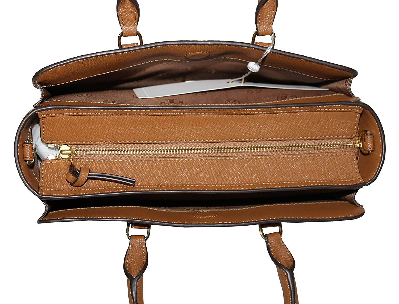 977095f2b65 Amazon.com  Tory Burch Women s Emerson Small Zip Tote Leather Shoulder  Handbag 50707 (Tiger s eye)  Shoes