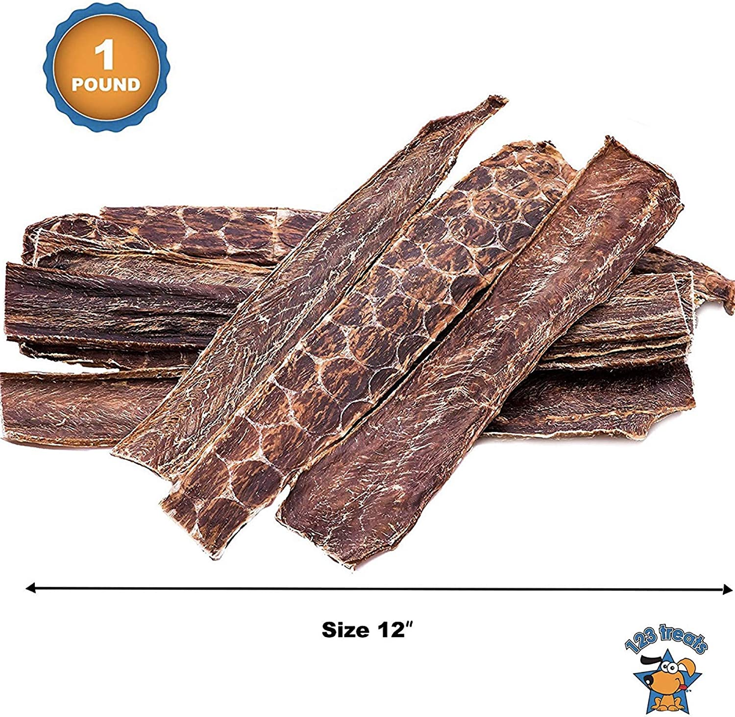 123 Treats – Beef Dog Treats Esophagus for Dogs 100 Natural Healthy Chews for Dogs – All Natural Jerky Meat Free of Preservatives, Hormones, Additives, Chemicals Antibiotics